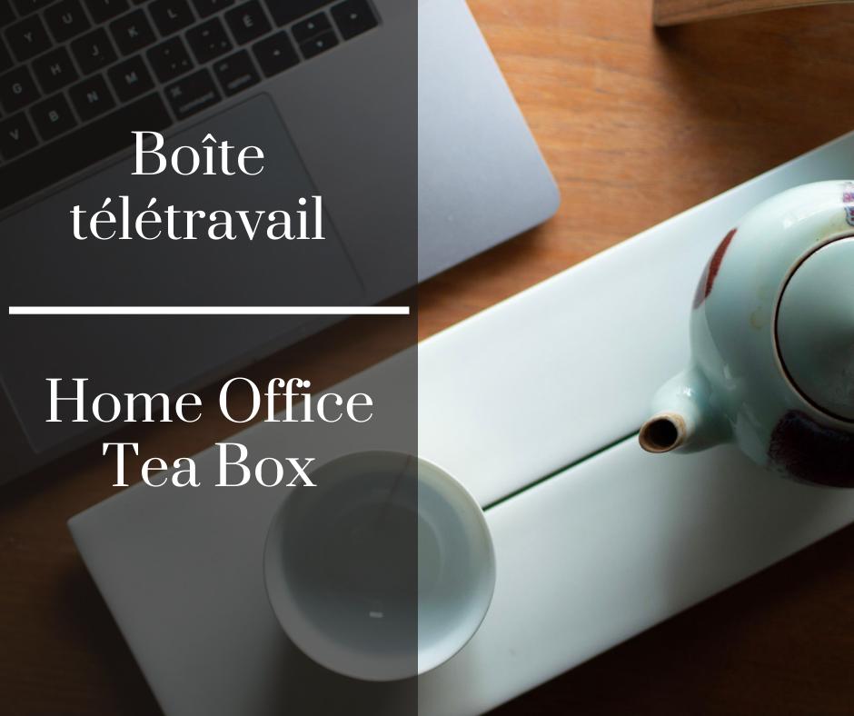 Boîte télétravail | Camellia Sinensis Maison de thé