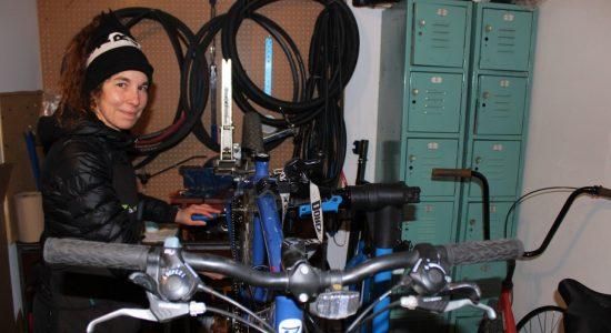 Chantal Duchesneau, dynamo des vélos! - Véronique Demers