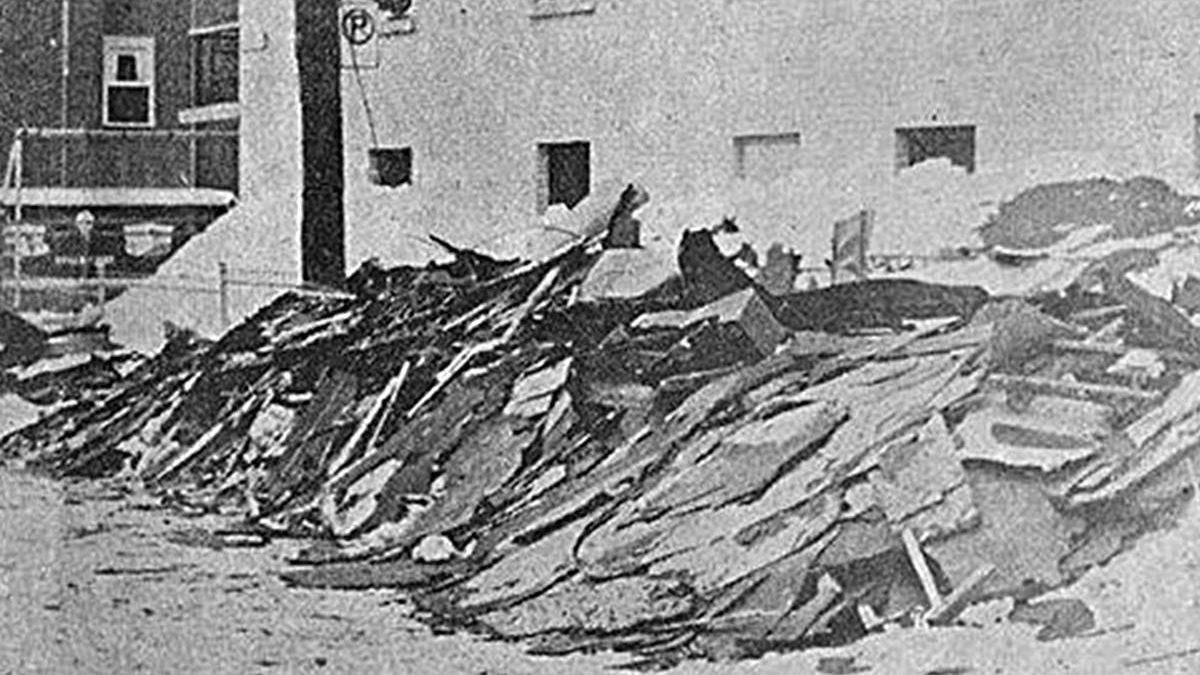 Saint-Roch dans les années 1970 (3) : la Tempête du siècle sème la pagaille en Basse-Ville! | 1 mars 2015 | Article par Jean Cazes