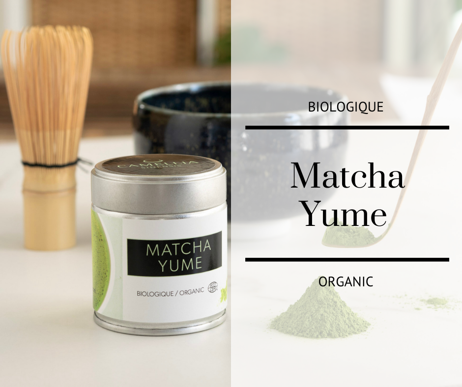 Matcha Yume Organic | Camellia Sinensis Maison de thé
