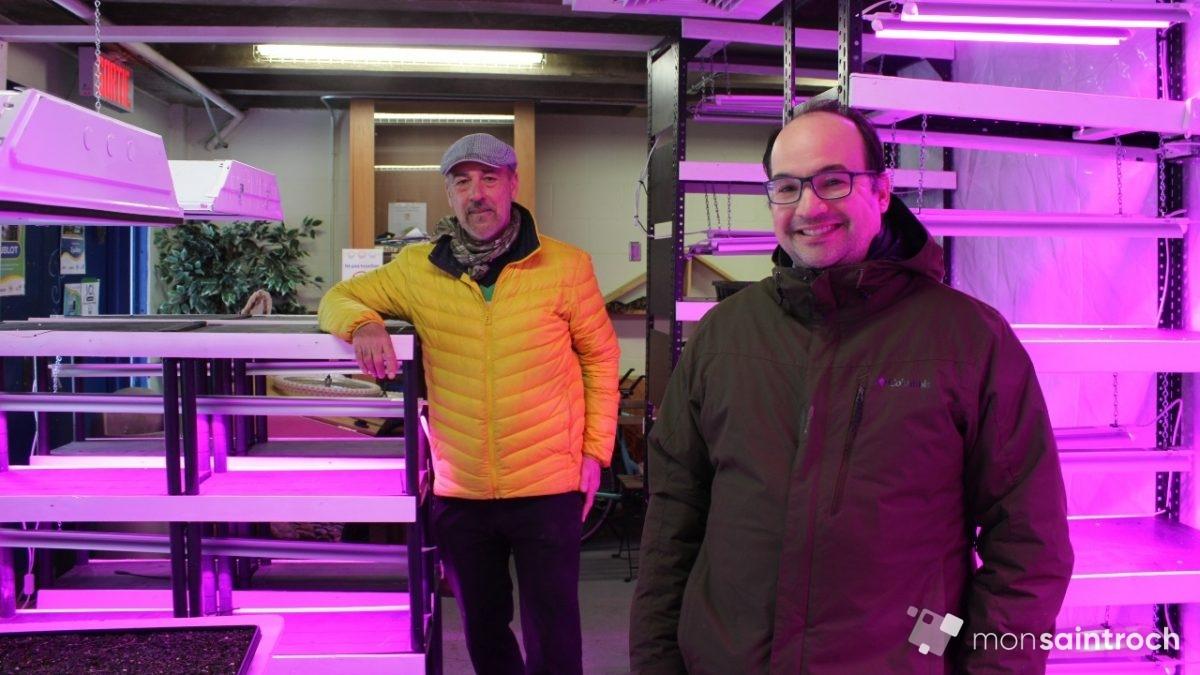 Une ferme maraîchère et pédagogique à l'école des Berges | 16 mars 2021 | Article par Véronique Demers