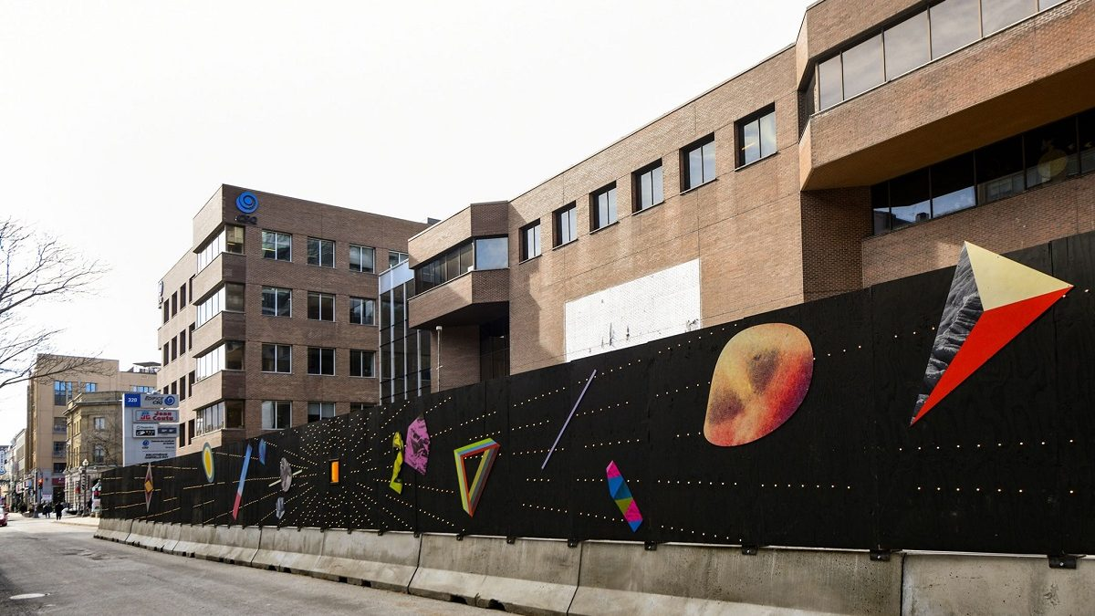Une palissade artistique évolutive sur Saint-Joseph | 19 mars 2021 | Article par Suzie Genest