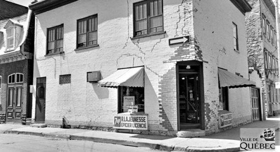 Saint-Roch dans les années 1970 : l'épicerie Lajeunesse - Jean Cazes