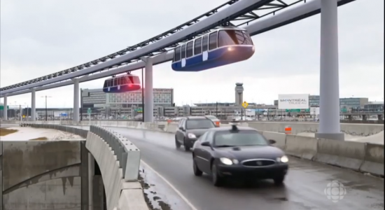 Un monorail au Québec - Monquartier
