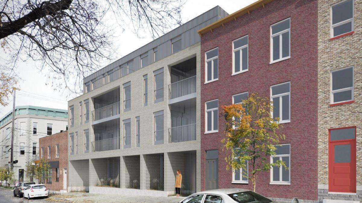 Projet de logements et de bureau d'architectes au 533, Langelier | 12 mai 2021 | Article par Julie Rheaume