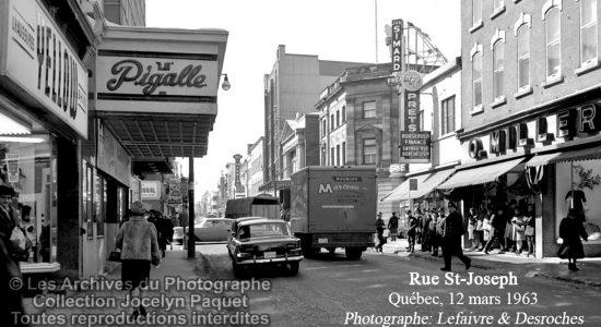Saint-Roch dans les années 1960 (39) : cinéma Pigalle et commerces voisins - Jean Cazes