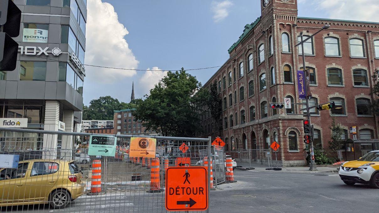 Aménagements piétonniers et chantiers: Rousseau déplore l'inertie de la Ville - Julie Rheaume
