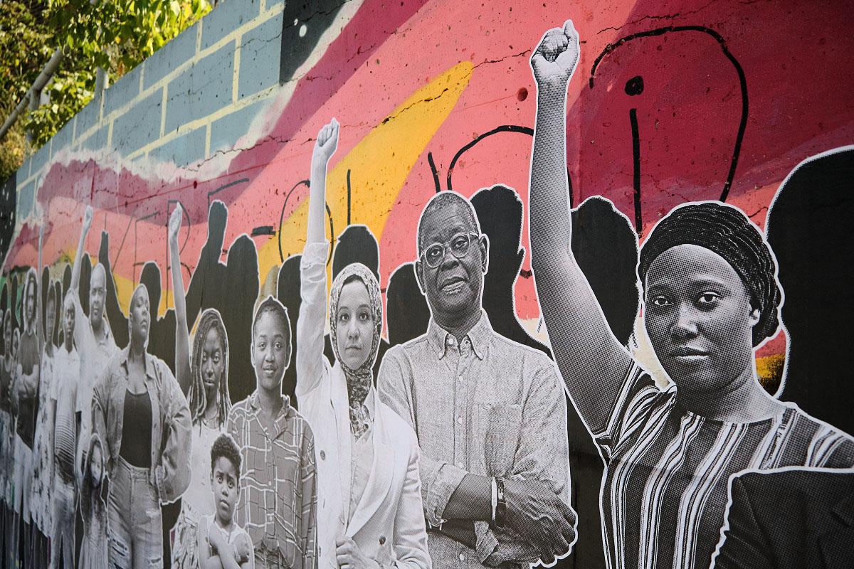 <em>La vie des Noir.e.s compte</em> : du « street art » contre le racisme systémique - Suzie Genest