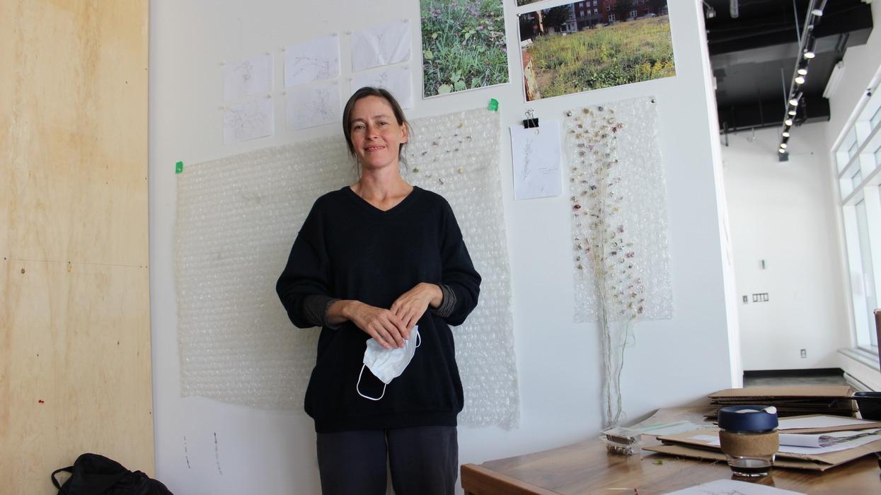 L'art rencontre les plantes sauvages à PECH-Sherpa - Viktoria Miojevic