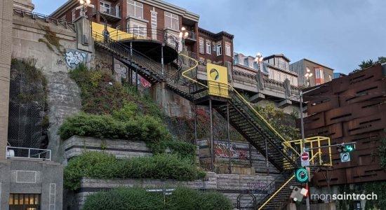 <em>Escale</em> dans l'escalier du Faubourg - Suzie Genest