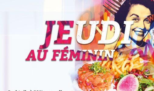 Jeudi - Au féminin!