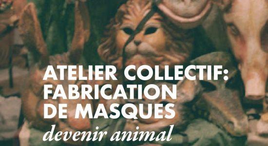 Atelier collectif : Fabrication de masques